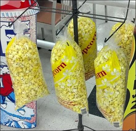 Popcorn Merchandised by Hook