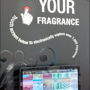 Sephora Smell O Vision Retail POP Main