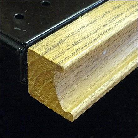 Hardwood C-Channel To Die For