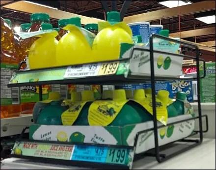 Lemon Shelf Manangement Closeup
