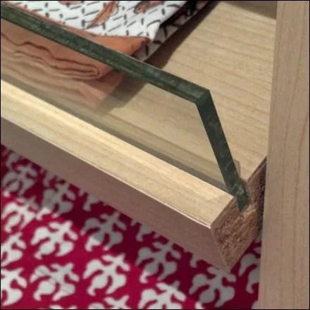 Placemat Glass Productstops Detail Closeup Photo