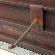 Rusty Hook Detail Closeup
