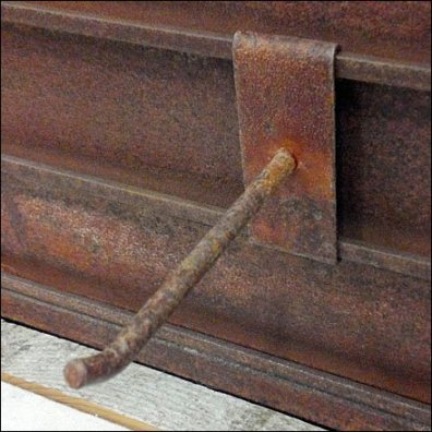 Rusty Hook Detail Closeup