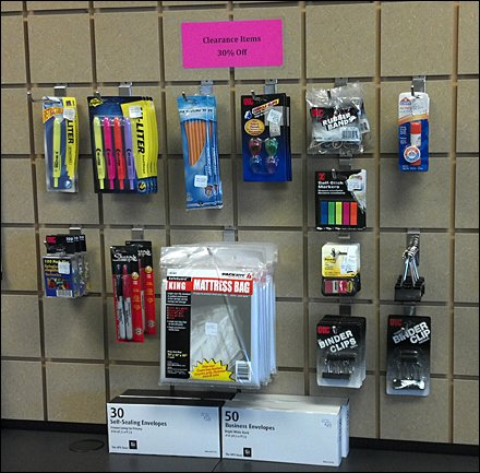 Slatwall Elevates Office Supplies Offerings