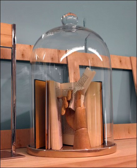 Books in a Bell Jar Solitary