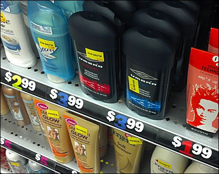 Color-Coded Shelf-Edge Prices