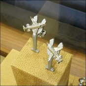 Cufflinks Tee Up Display