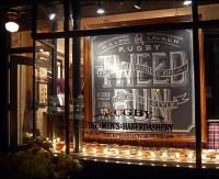 Ralph Lauren Hand-Chalked Signs