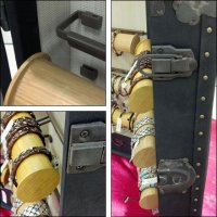 Actual Trunk Can Travel For Jewelry Sales