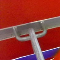Slatwall Study in Contrasts Closeup