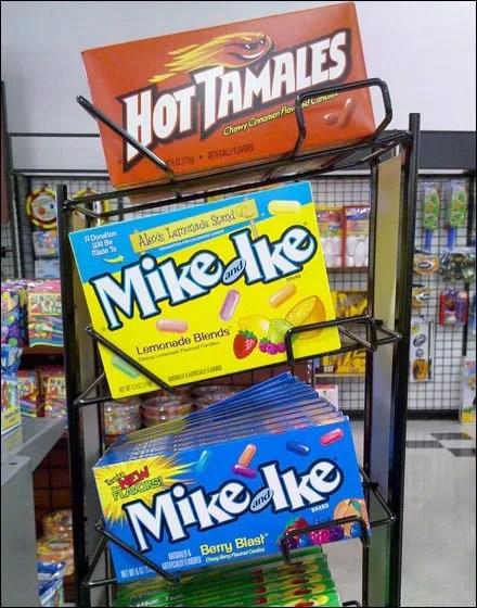 New Mike-and-Ike Slant Merchandising