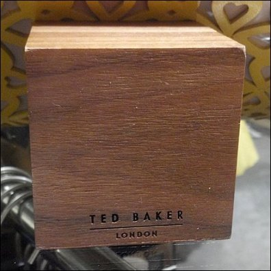 Ted Baker Wood Block Closeup