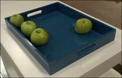 Apple Tray1 as retail still life