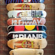 DDI Boardriders Skateboards Hook Rack