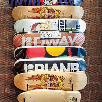 DDI Boardriders Skateboards Hook Rack