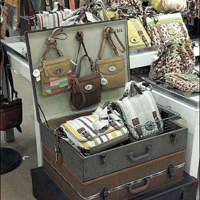 Fossil Vintage Valise Overall