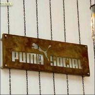 Puma Social Club Rust Finish Sign