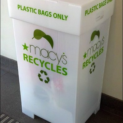 Recycled Recycling Bin Main