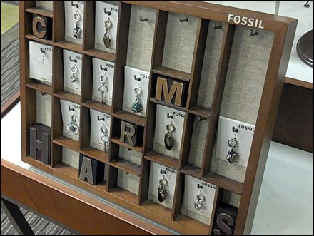 Fossil Upcycles a Vintage Type Case