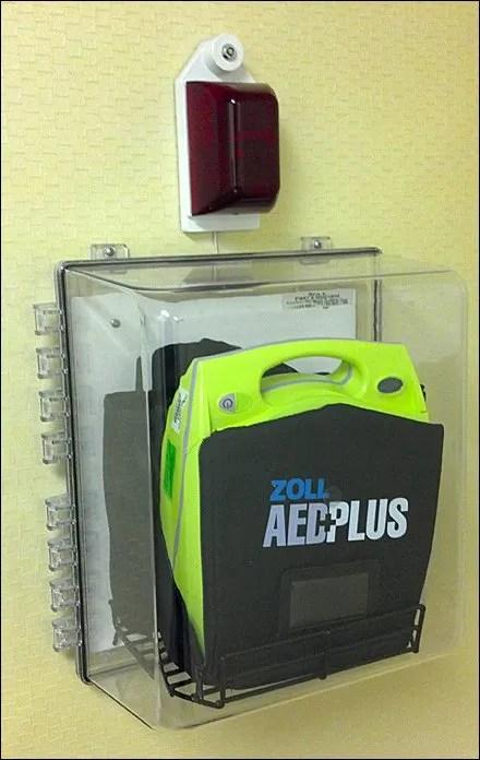 Defibrillator Emergency Fixtures
