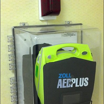Defibrillator as Retail Amenity Main