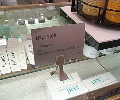 Designer Freestanding Sign Clip Main