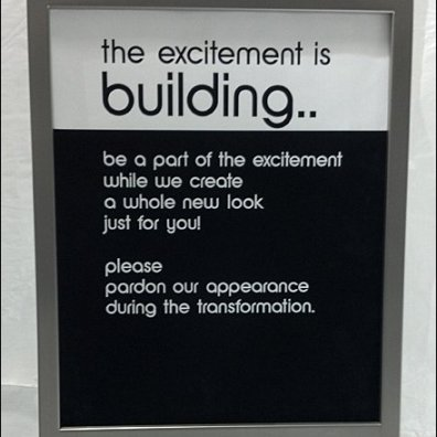 Excitment Building Construction Sign Main