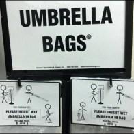 Umbrella Bag Instructions