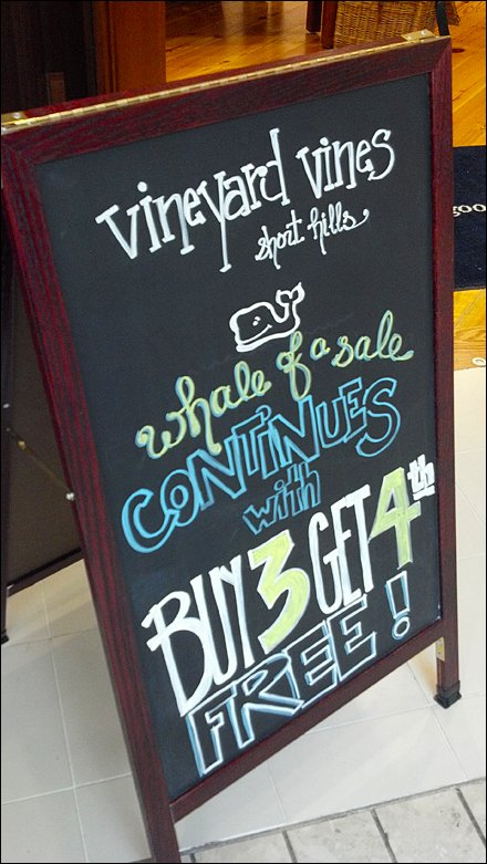 Whale-of-a-Sale in Chalk