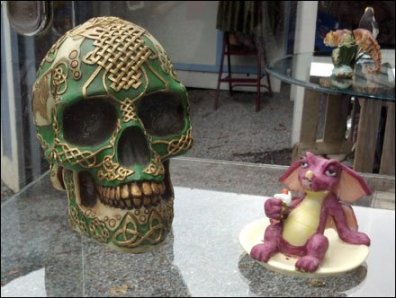 Celtic Skull and Friend