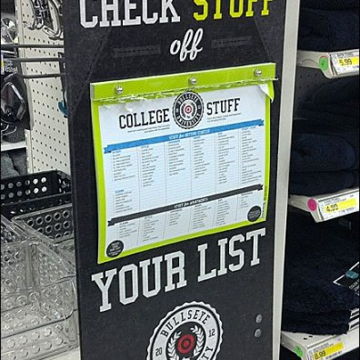 College Back-to-School List Main