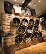 Jack Daniel's Barrels as Decor