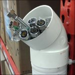 PVC Pallet Rack Quiver is DIY