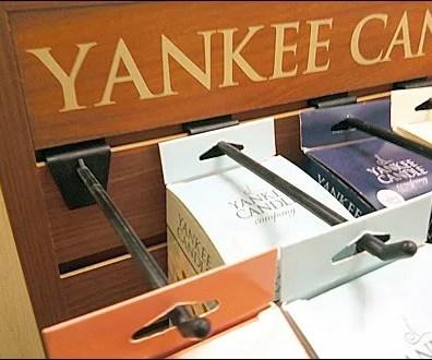 Yankee Candle Plastic Slatwall Hook