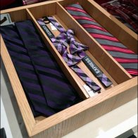 Bow Ties In Wood Tray Main