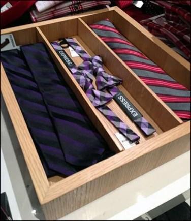 Bow Ties In Wood Tray Main