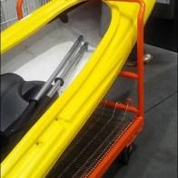 Kayak Size Shopping Carts Detail