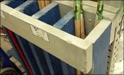 Do-It-Yourself 2x6 Broom Handle Rack