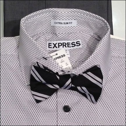 Bow Ties on Shirts Aux
