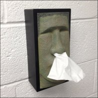 Easter Island Tissue Dispenser Main
