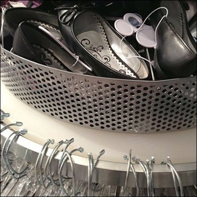 Perforated Rack-Top Shoe Bin Main