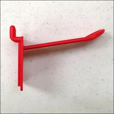 Plastic Back Labeled Hook3 Side