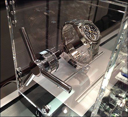 Vault Spindle Wheel Dial Precisionist Watch POP Main