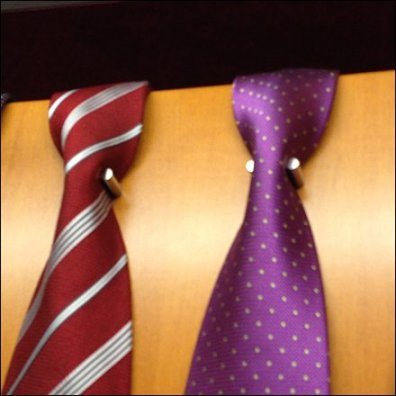 Neckties Neck-Down Naturally