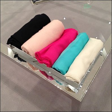 Dior Coffee Table 3 Scarves