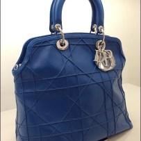 Dior Granville Purse Cruise Blue