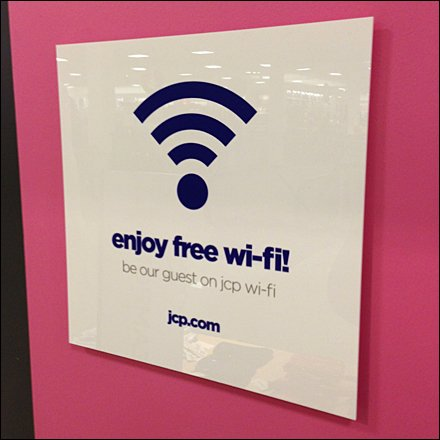 Enjoy Free Wi-Fi Main