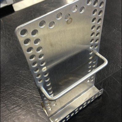 Metal Plate Literature Holder Main