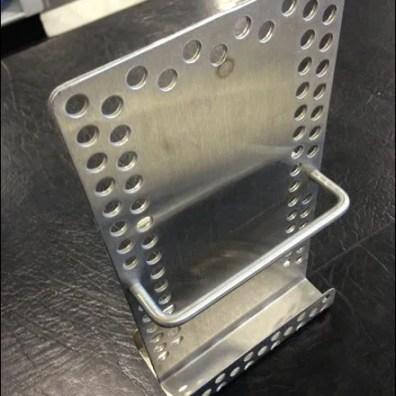 Metal Plate Literature Holder Main