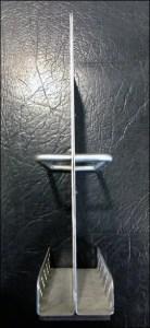Metal Armor-Plated Literature Holder
